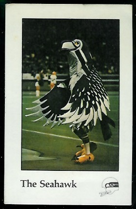 The Seahawk 1979 Seahawks Police football card