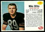 1962 Post Cereal Mike Ditka football card