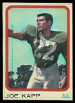 Joe Kapp 1963 Topps CFL football card