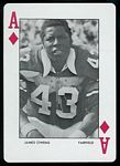 1972 Auburn Playing Cards James Owens