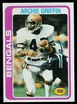Archie Griffin 1978 Topps football card