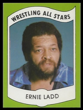 Ernie Ladd 1982 Wrestling All-Stars card