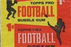 1958 Topps 1 cent football card wrapper